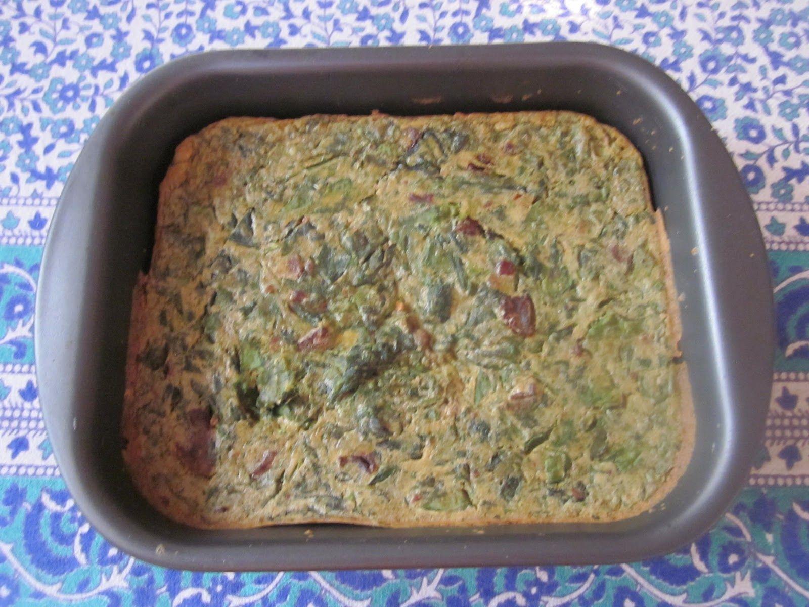 Yogi Kitchen: Vegan Frittata
