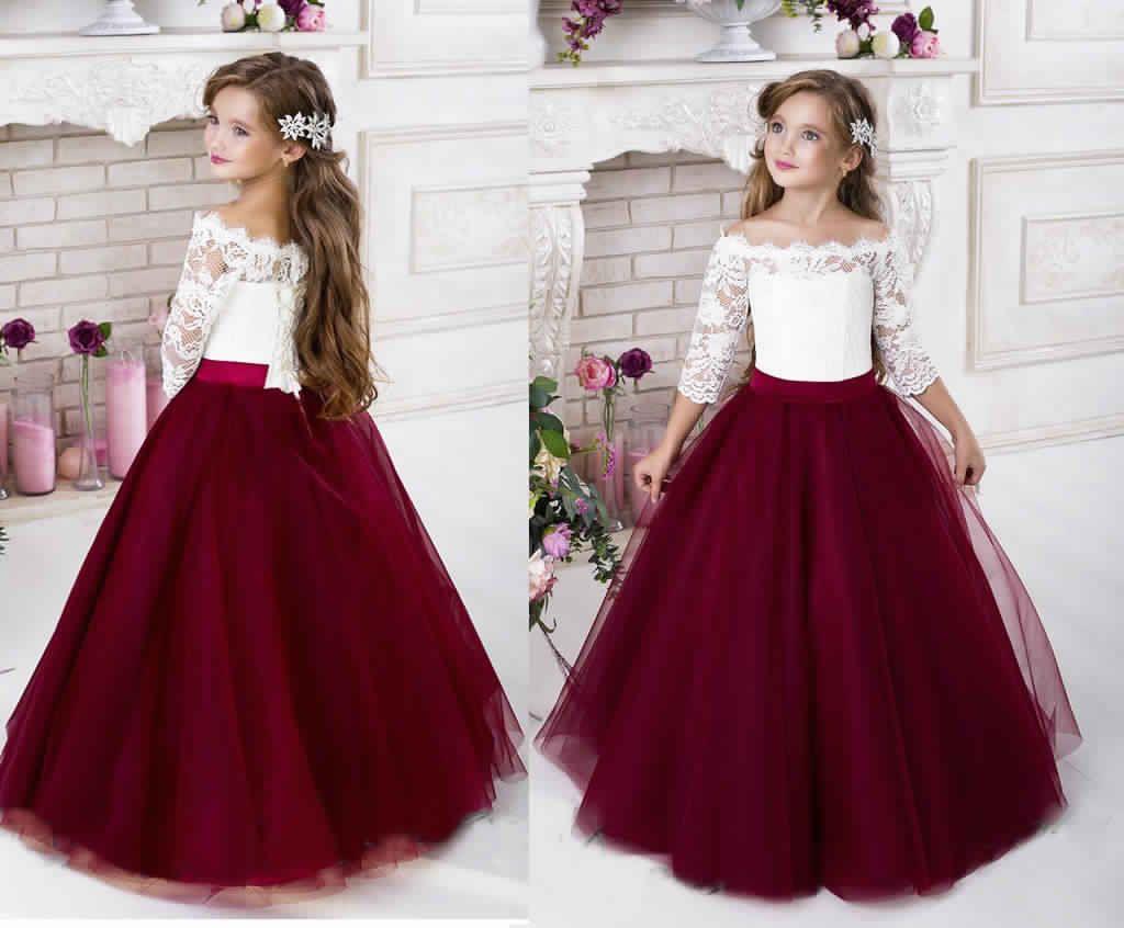 احدث موديلات فساتين تل للاطفال جديدة لعام 2019 Dresses Fashion Victorian Dress