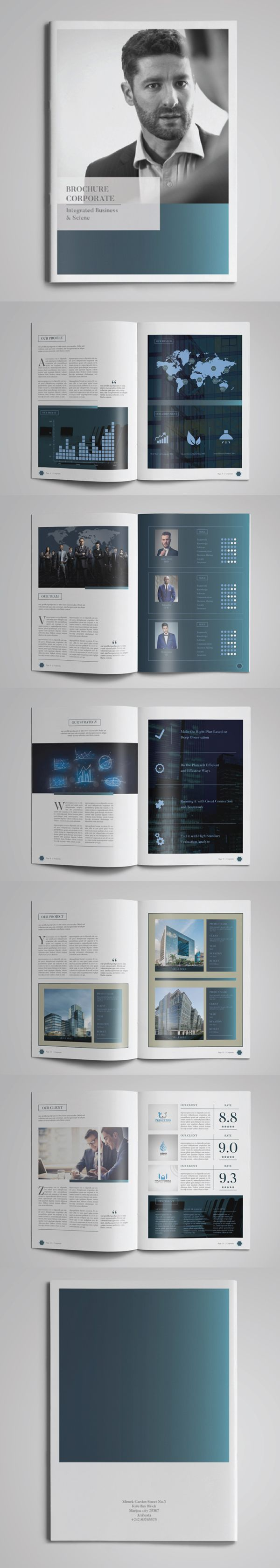 Multipurpose Brochure Corporate Template  Bochure