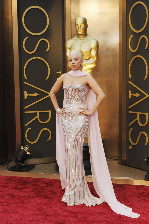 Lady Gaga - 2014 Oscars: Oscars Red Carpet Fashion 2010 ...