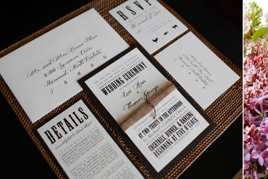 rustic elegant wedding invitations give the invitations some