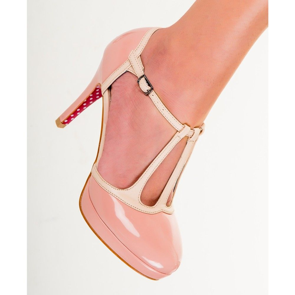 Banned Betty Pumps Pink