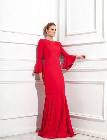 Vestidos de madrina flamencos