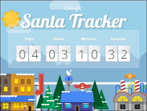 Google Launched Santa Tracker Website Along with Android
