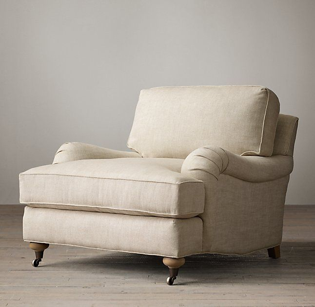 english roll arm upholstered chair | home | pinterest | front