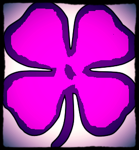 Purple Clover Photo Frames and Giftware