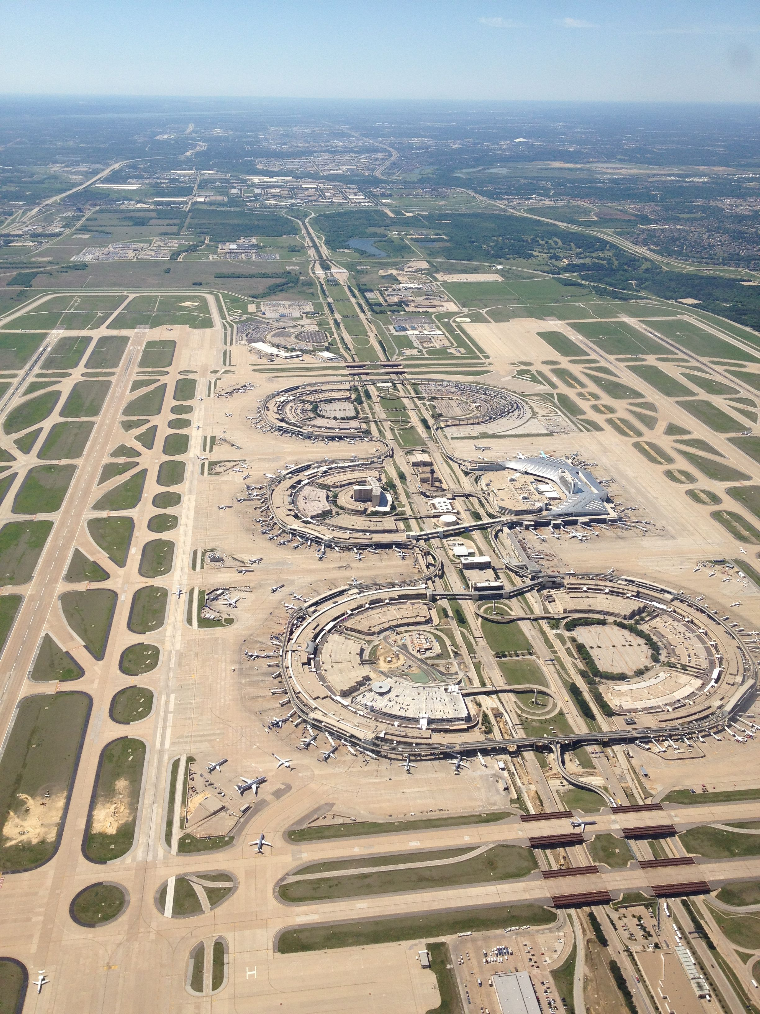 DFW Airport opened in 1974 My buddies and I went there