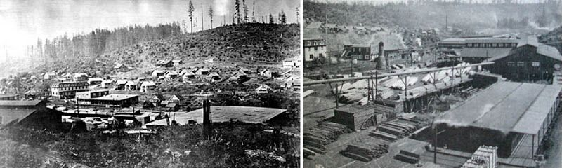 Dark Roasted Blend: Ghost Towns of the Pacific Northwest: Bordeaux, Washington
