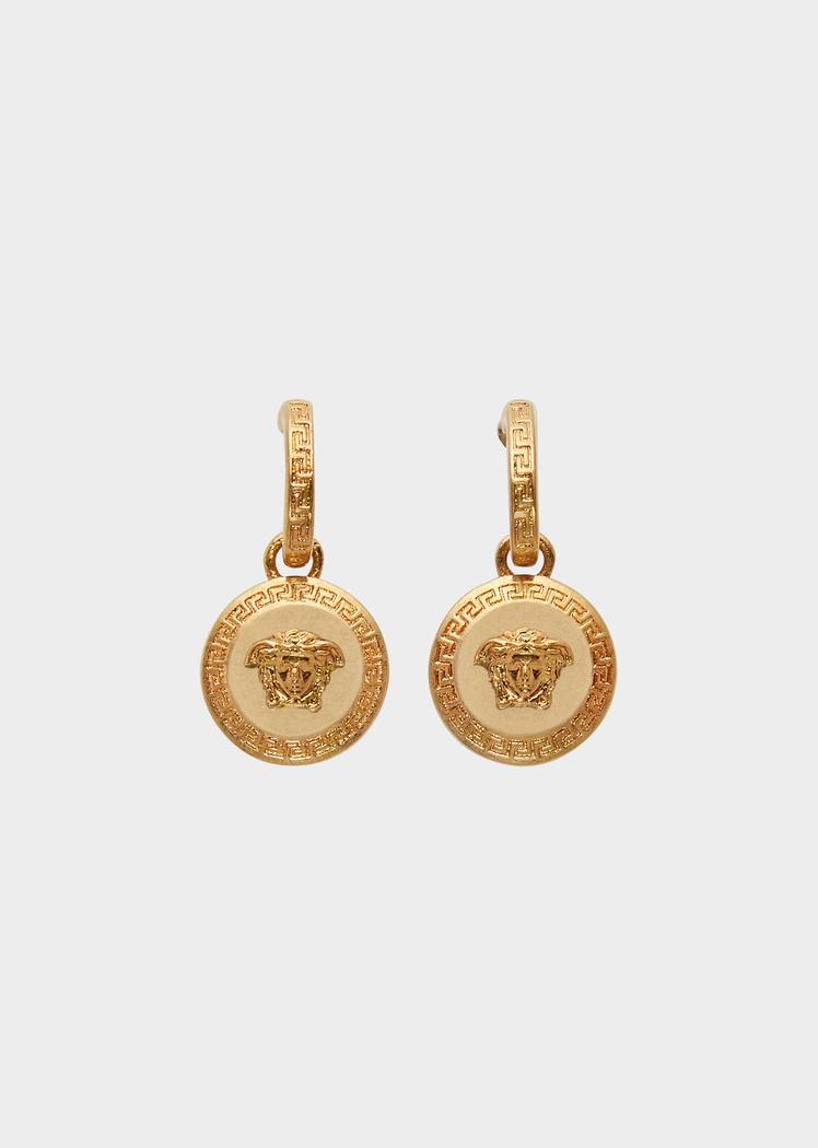 382dd00b2 Versace Tribute Medusa Pendant Earrings for Women | UK Online Store. Tribute  Medusa Pendant Earrings from Versace Women's Collection.