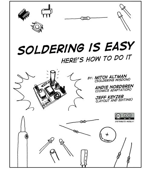 soldering is easy comic book