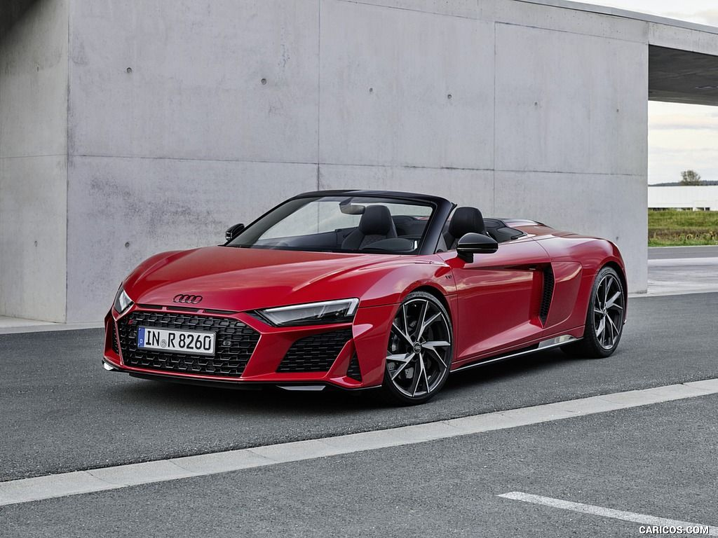 2020 Audi R8 V10 Rwd Coupe And Spyder Wallpaper In 2021 Audi R8 V10 Audi R8 Convertible Audi R8