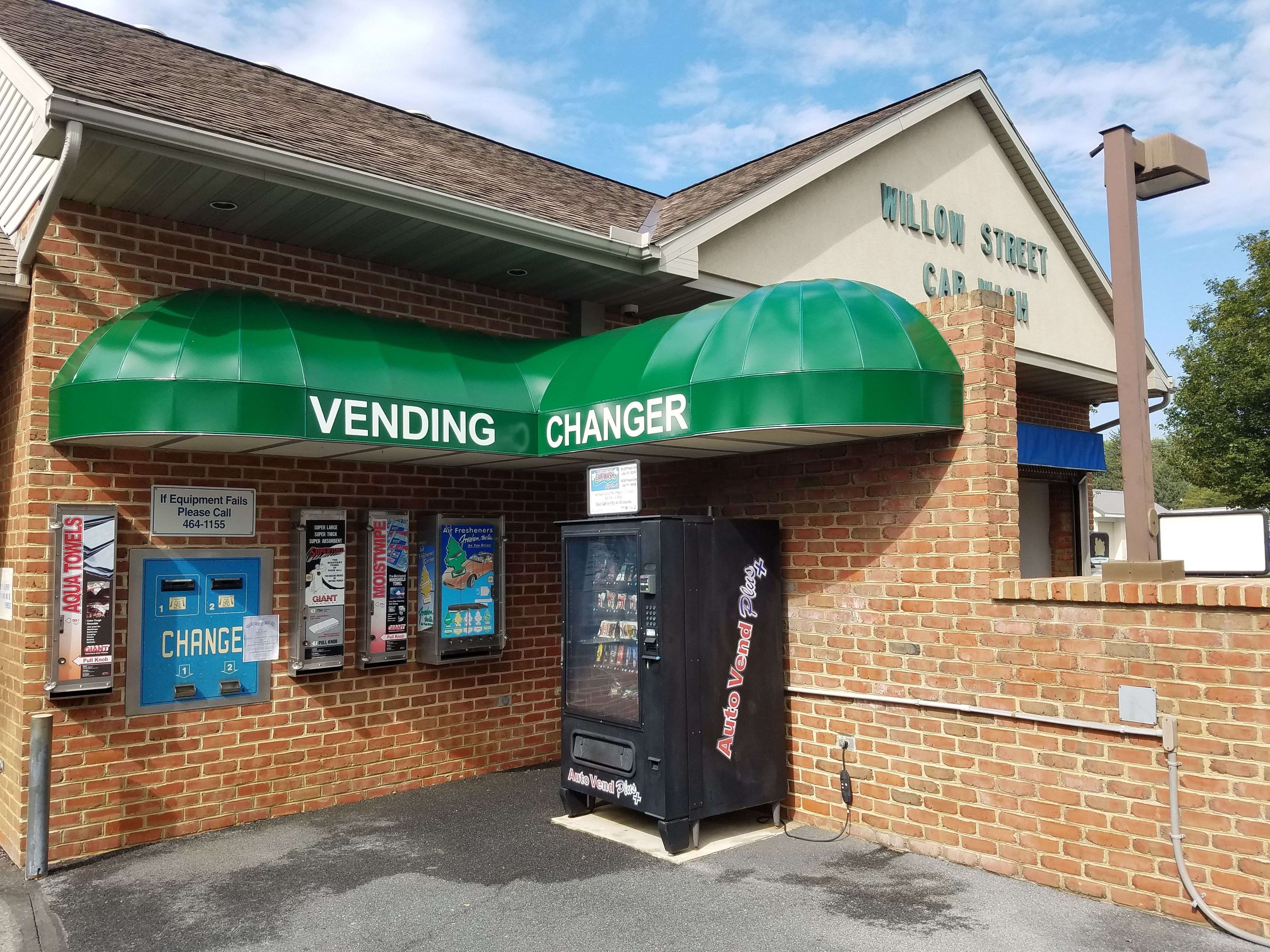 backlit awnings make your business stand out at night the
