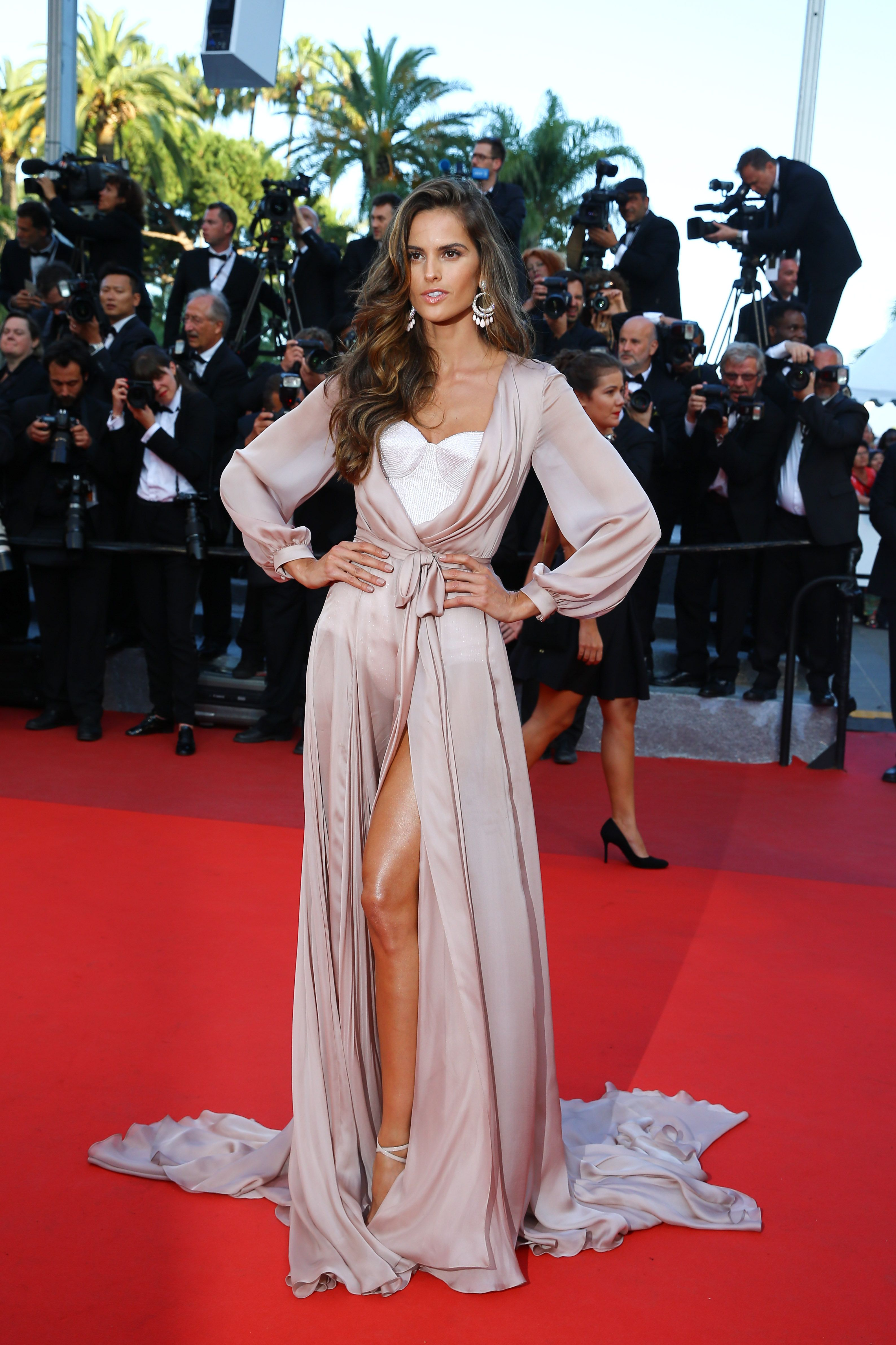 5e24aa0ce0 Izabel Goulart - The Julieta Premiere during the 69th Annual Cannes Film  Festival in Cannes 17 May 2016