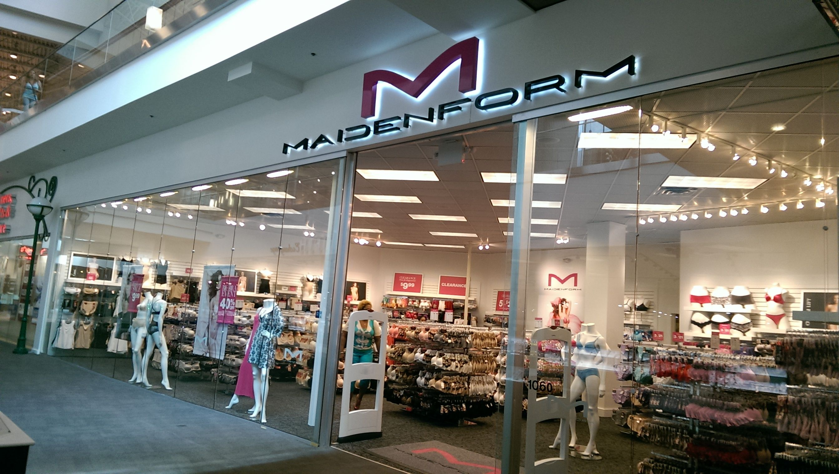 6458c01f3 New  maidenform outlet store now open! Visit them on the lower level ...