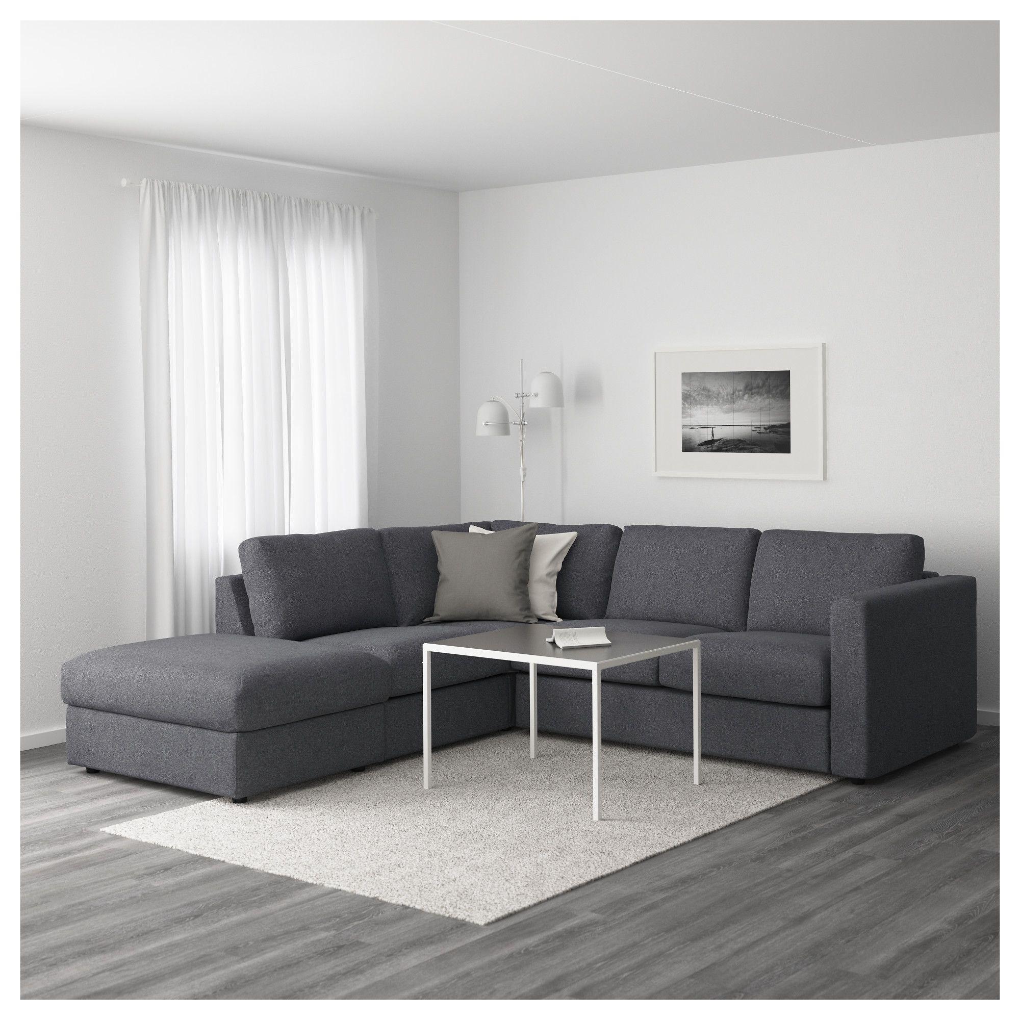 Furniture And Home Furnishings Ikea Vimle Sectional Sofa Best Leather Sofa