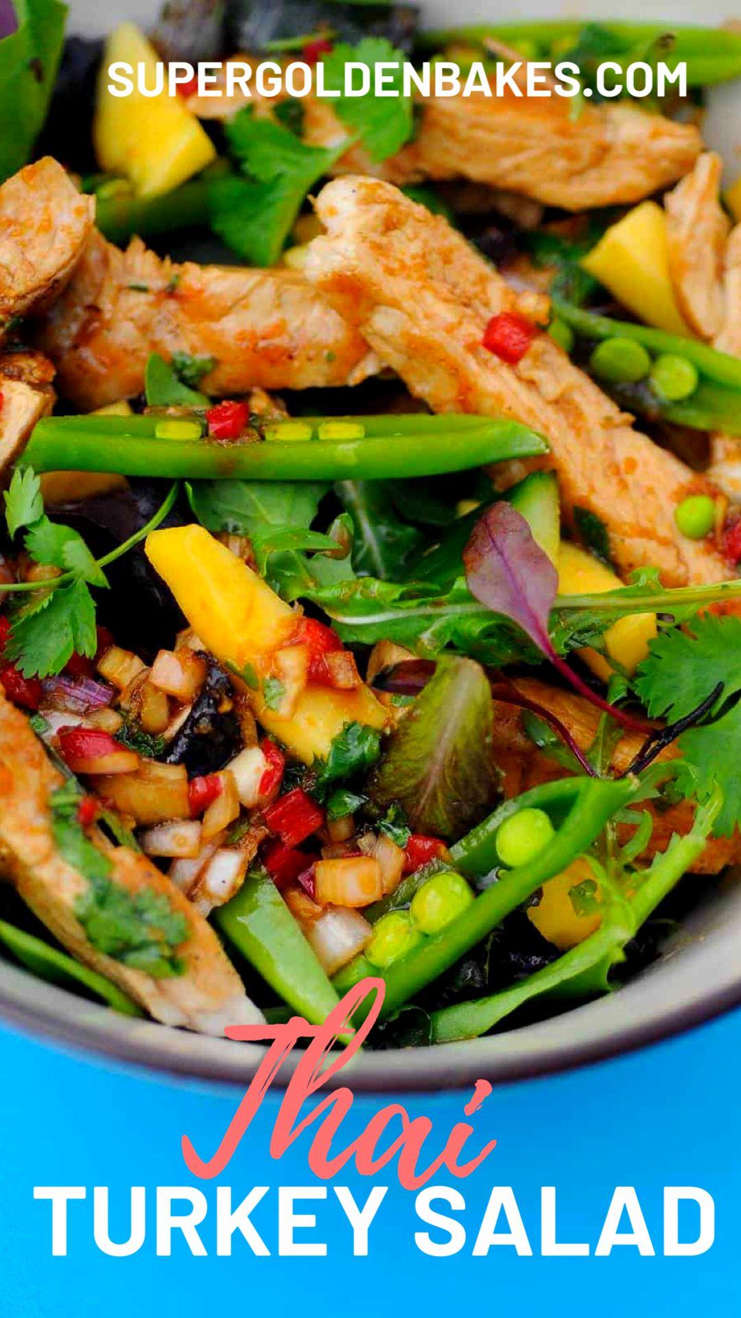 Thai Turkey Salad   Slimming Friendly - Supergolden Bakes ...