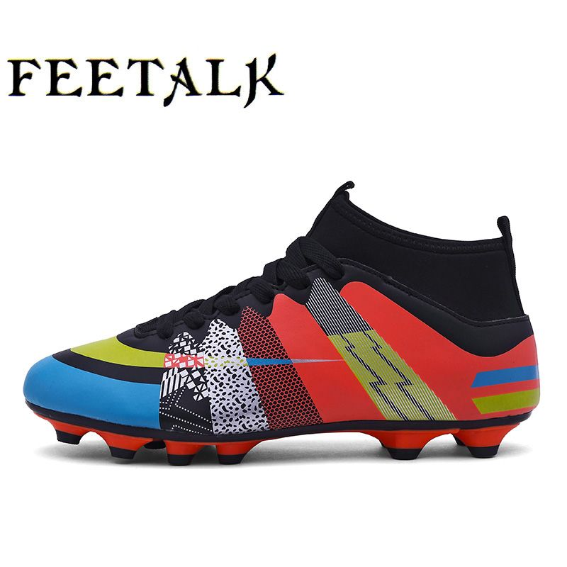 e7fb23314f48 Cool 2017 High Ankle Kids Football Boots Superfly Original Cheap Soccer  Football Shoes Cleats Boys Girls Sneakers High Quality - $ - Buy it Now!