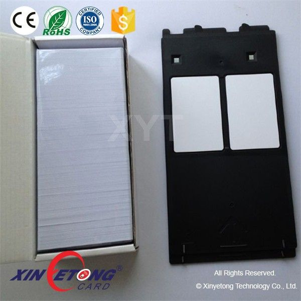 Canon Ip4600 Pvc Id Card Tray G For Cr80 Inkjet Card Plastic Card Nfc Sticker Cards