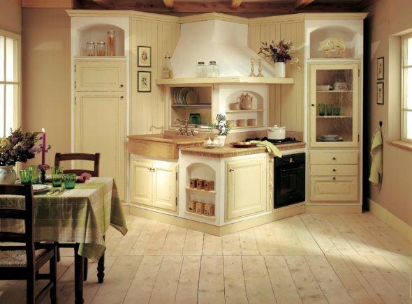 cucine-in-muratura-fai-da-te-bianca.jpg (590×436) | kuchnia ...
