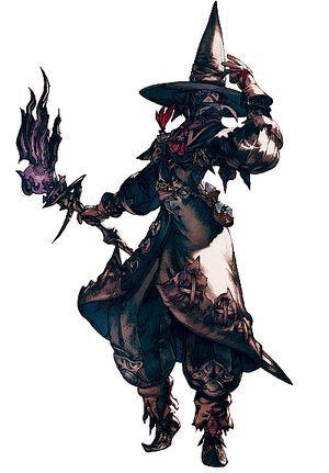Black Mage - Final Fantasy XIV A Realm Reborn Wiki - FFXIV