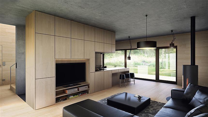 Projekt domu Uniwersalny plus natura #1