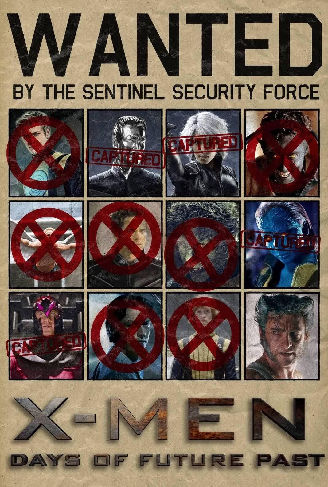 X Men Dias Del Futuro Pasado Days Of Future Past X Men Man Movies