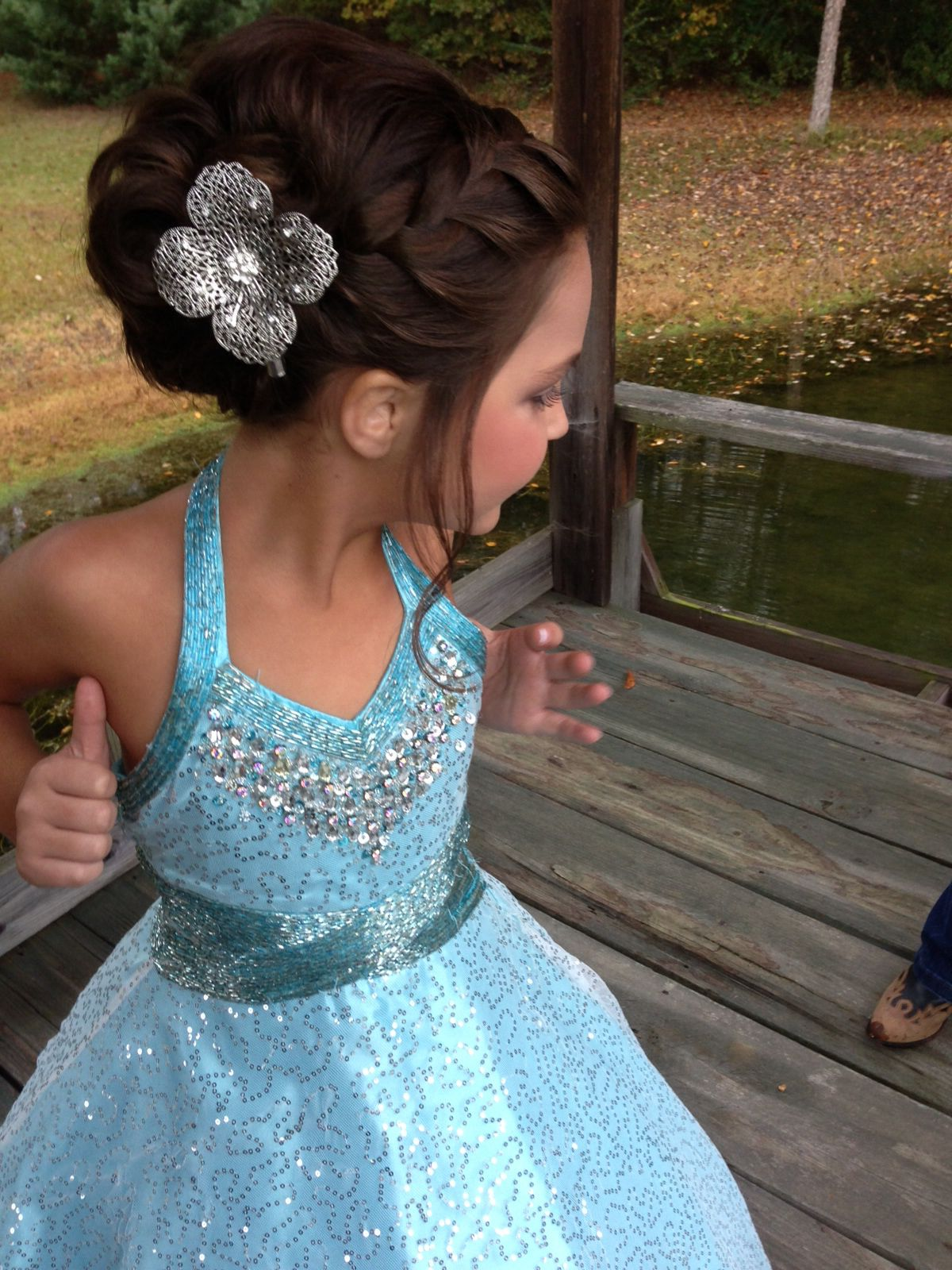 best pageant hair ever | jacee | flower girl hairstyles