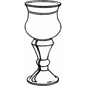 Chalice Chalice Cup Coloring Page Faith Art Journaling