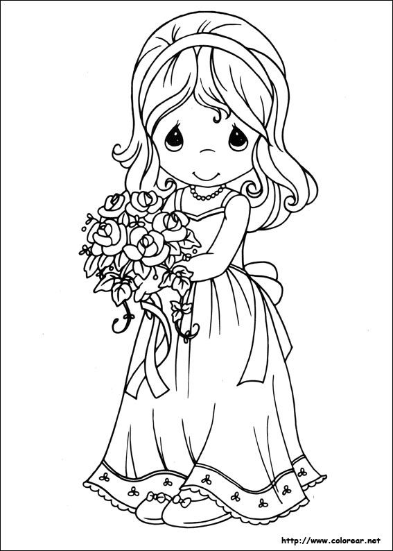 precious moments wedding coloring pages dibujos de preciosos momentos