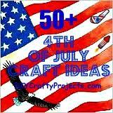 50 Happy 4th of July Crafts #patriotsdaycraftsforkids