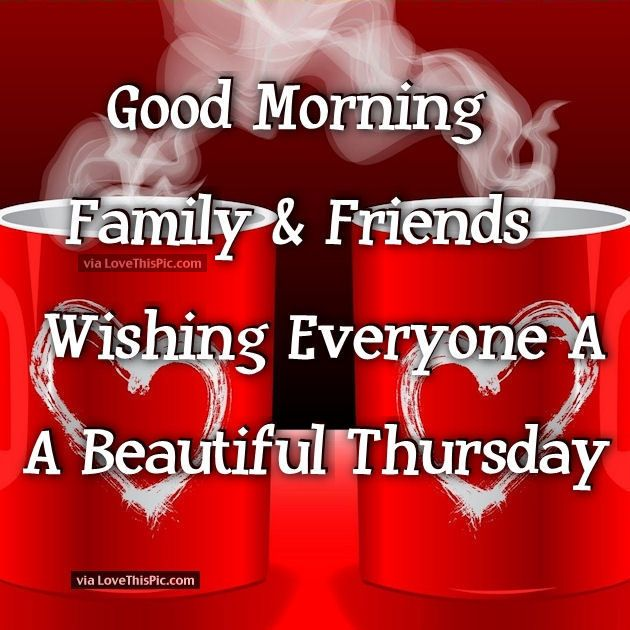 Good Morning Family and Friends   Good Morning   Have a