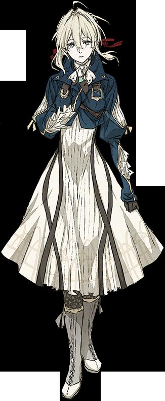 Violet Evergarden Characters Violet evergarden anime