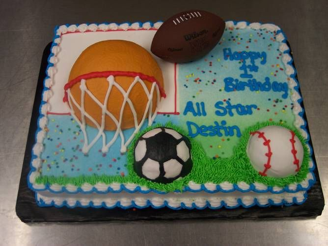 Groovy Sports Cakes For Birthdays Pictures Of Sport Cakes Sports Themed Funny Birthday Cards Online Elaedamsfinfo