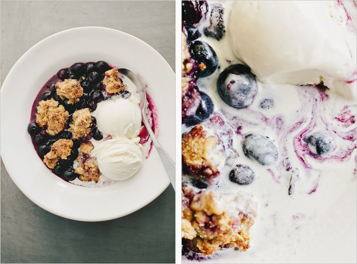 Blueberry Biscuit Cobbler / Sprouted Kitchen