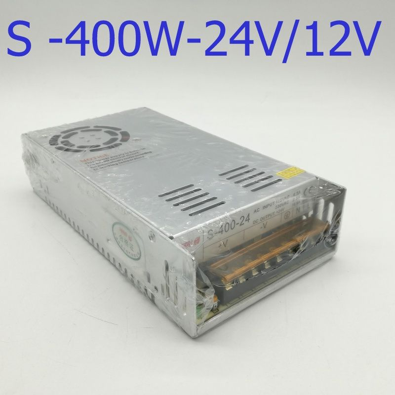 S-400-12 Single Output Switching power supply 400W 12v 16.5A ac to ...