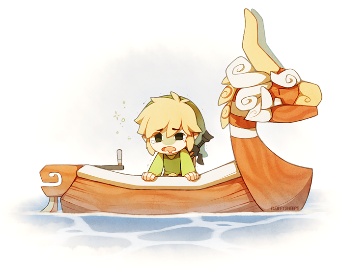 The Legend of Zelda: The Wind Waker, Toon Link and The King of Red ...