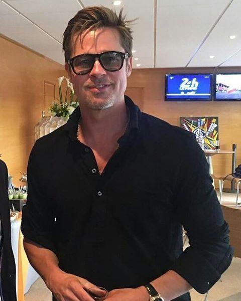 """Mi piace"": 326, commenti: 12 - Brad Pitt (@brad.pitt.official) su Instagram: ""#BradPitt . . . . . . . . . . . . #shiloh #brangelina #angelinajolie #joliepitt #follow #followme…"""