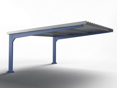 Marquesinas de aparcamiento y techos de parking para - Marquesinas para terrazas ...
