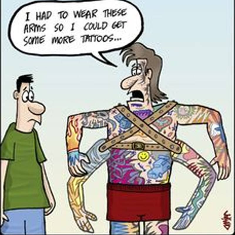 Tattoo Humor Quotes: Pin By Rx Ink On Tattoo Funnies
