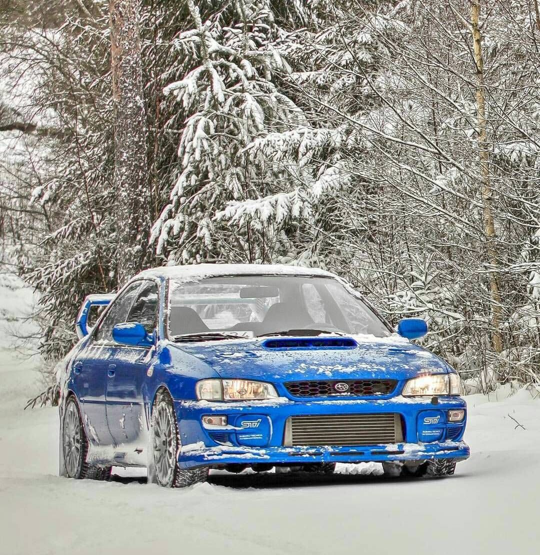 Subaru Impreza Classic WRX STI T Shirt Tuning Modified Car Low P1 World Rally 1