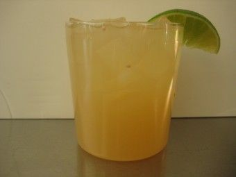 Citrus Rum Cooler: In a glass filled with ice combine 3/4 cup fresh grapefruit juice, juice of half a lime, 1 tablespoon Cointreau, and 1 1/2 ounces golden rum. Garnish with a lime wedge.