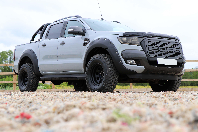 Seeker Raptor In Nardo Grey Wrap Stunning Ford Ranger 4x4