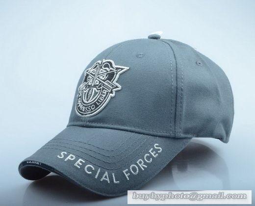 7561653b512 USMC Commemorative baseball cap Special forces military fans Tactical hat  Gray
