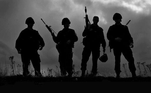 Soldier Silhouettes | tattoo | Pinterest | Soldier silhouette, Silhouettes and Tattoo
