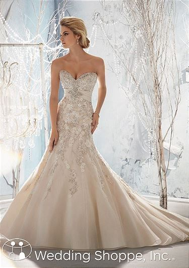 Mori lee wedding dress 2018 nfl