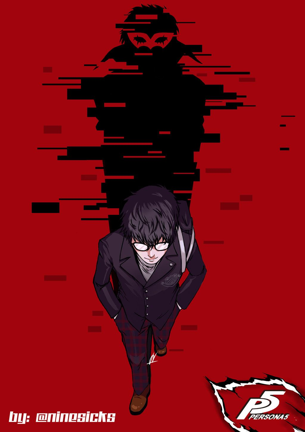 Protagonist Persona Wallpapers Hd High Quality 1024 576 Persona 5 Wallpapers 34 Wallpapers Adorable Wallpapers Persona 5 Joker Persona 5 Persona