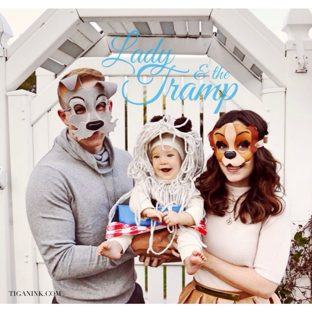 lady the tramp costume adorable babies first halloween blakeandtiganrobinsonblogspotcom