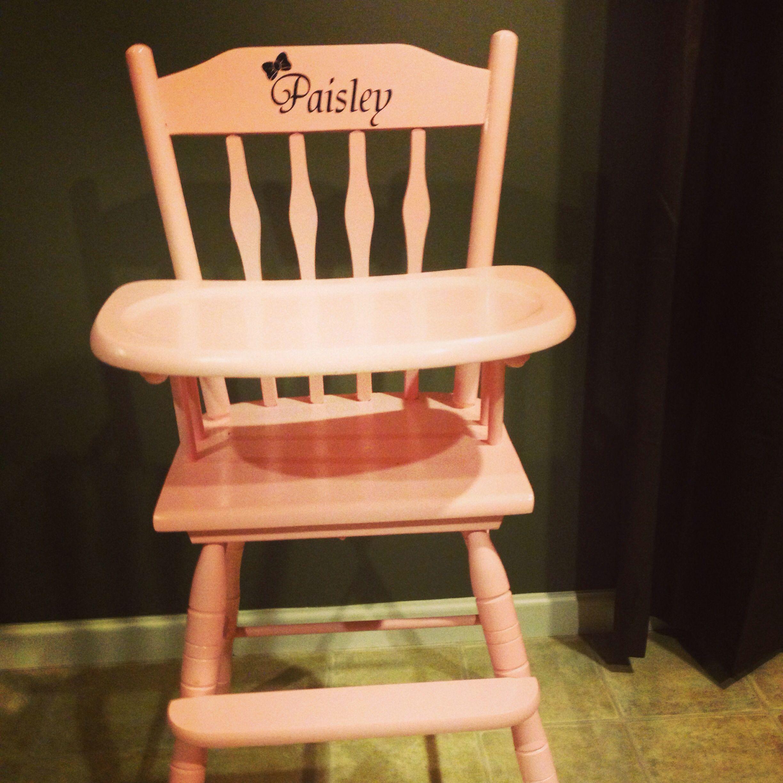 DIY wooden high chair | Wooden high chairs, Chair, Wooden diy