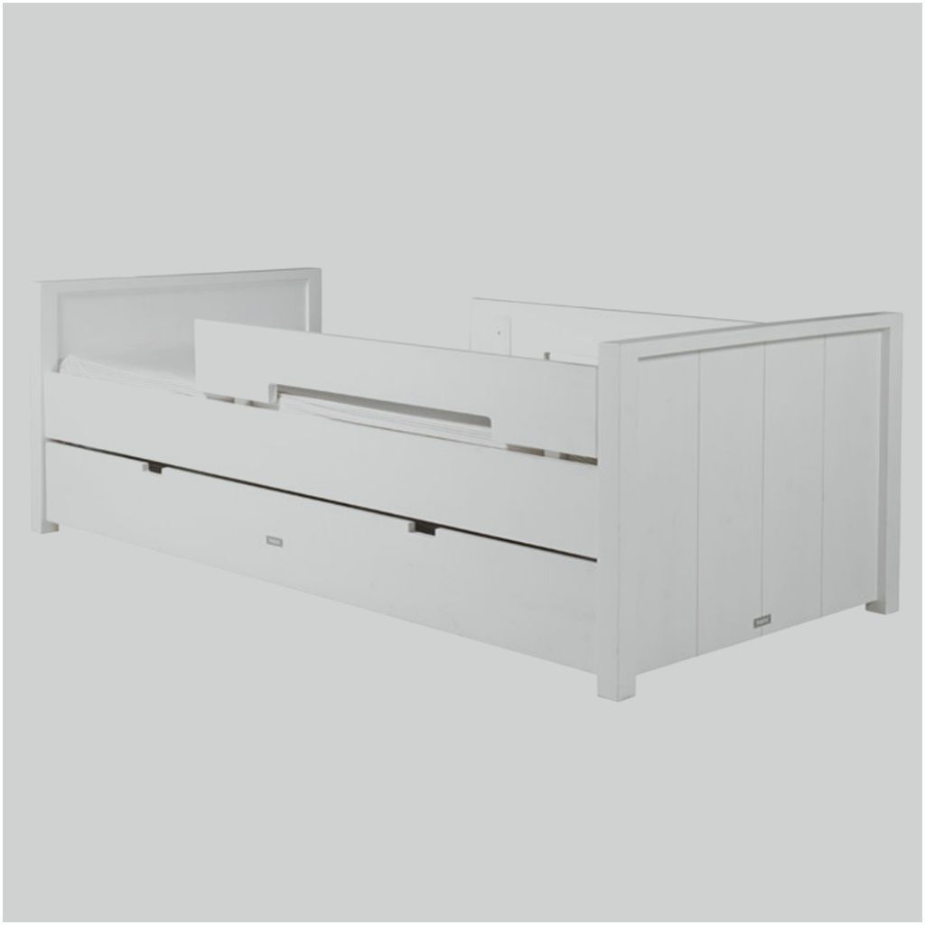 Fine Kinderbett Mit Rausfallschutz 90x200 Frisch Bopita Basic Wood Kinderbett White Wash 90 X 200