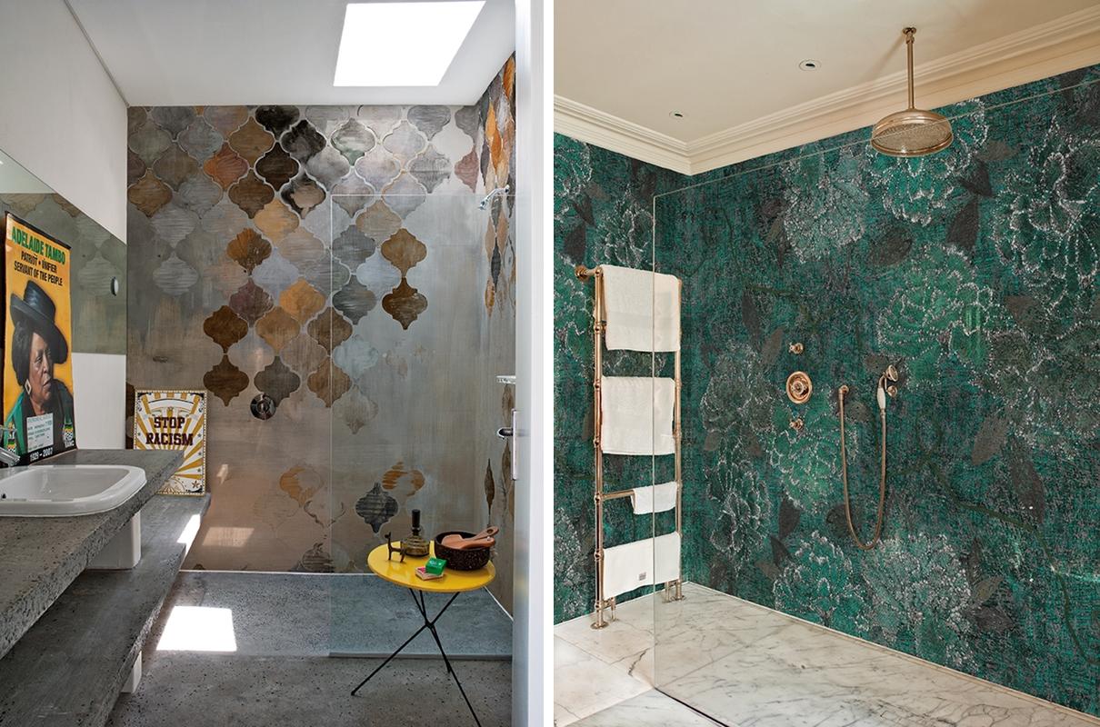 Tapeta W łazience Challenge Przyjęty Duża łazienka